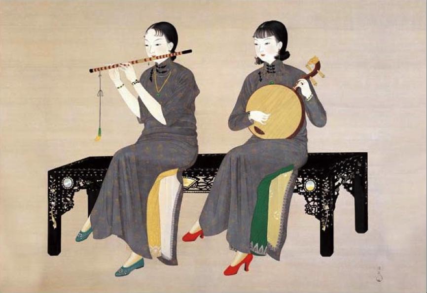 台灣史上第一位女畫家:陳進