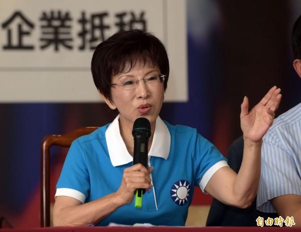 洪秀柱政見是對台灣人的羞辱